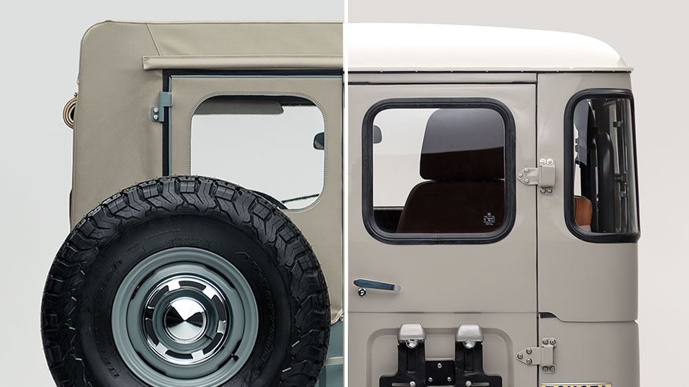 FJ40 Land Cruiser hardtop