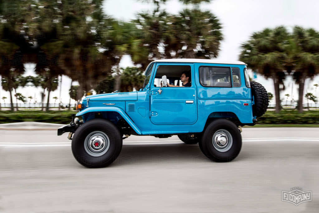 Classic Land Cruiser with hardtop