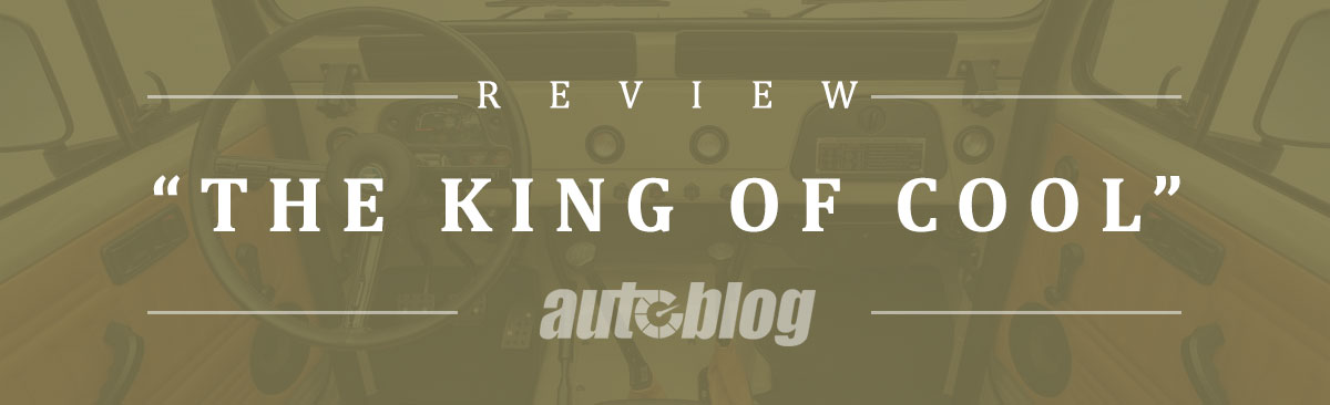 "Autoblog reviews The FJ Company Signature: ""The King of Cool"""