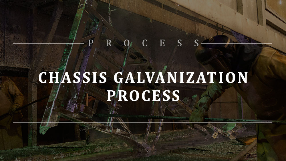 BREAKING NEWS: Your chassis is getting galvanized!